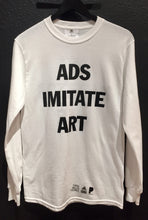 Adidas Long Sleeve Shirt Ads Imitate Art, Art Imitates Life