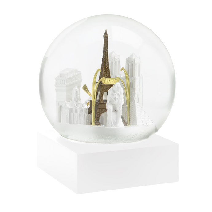 City Of Paris Snow Globe