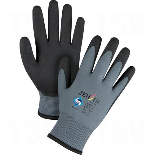 ZX-30° Premium Foam PVC Palm Coated Acrylic Lined Gloves