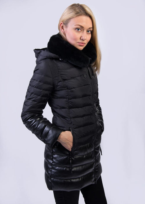 Women Winter Down Coat MSDS-Q524