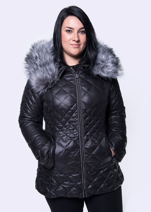 Plus Size Women Winter Down Coat VLD-V110M
