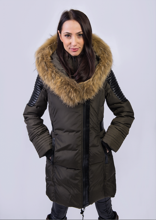 Women Winter Down Coat TD-AF-JK6017