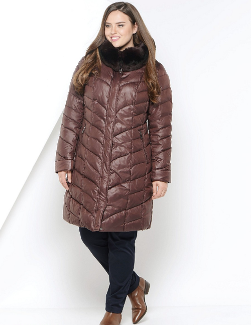 Plus Size Women Winter Down Coat VLCB-V553