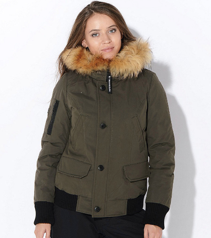 Women Winter Down Coat SID-Q306