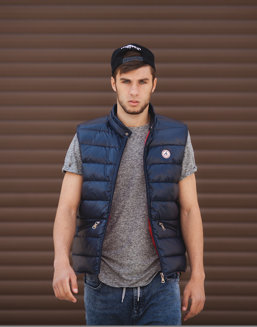 Men Down Vest Hugo