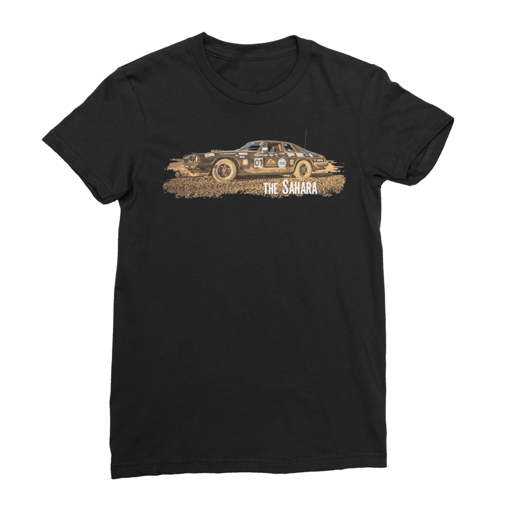 Rust 2 Sahara - The Black Pearl Women's Fine Jersey T-Shirt