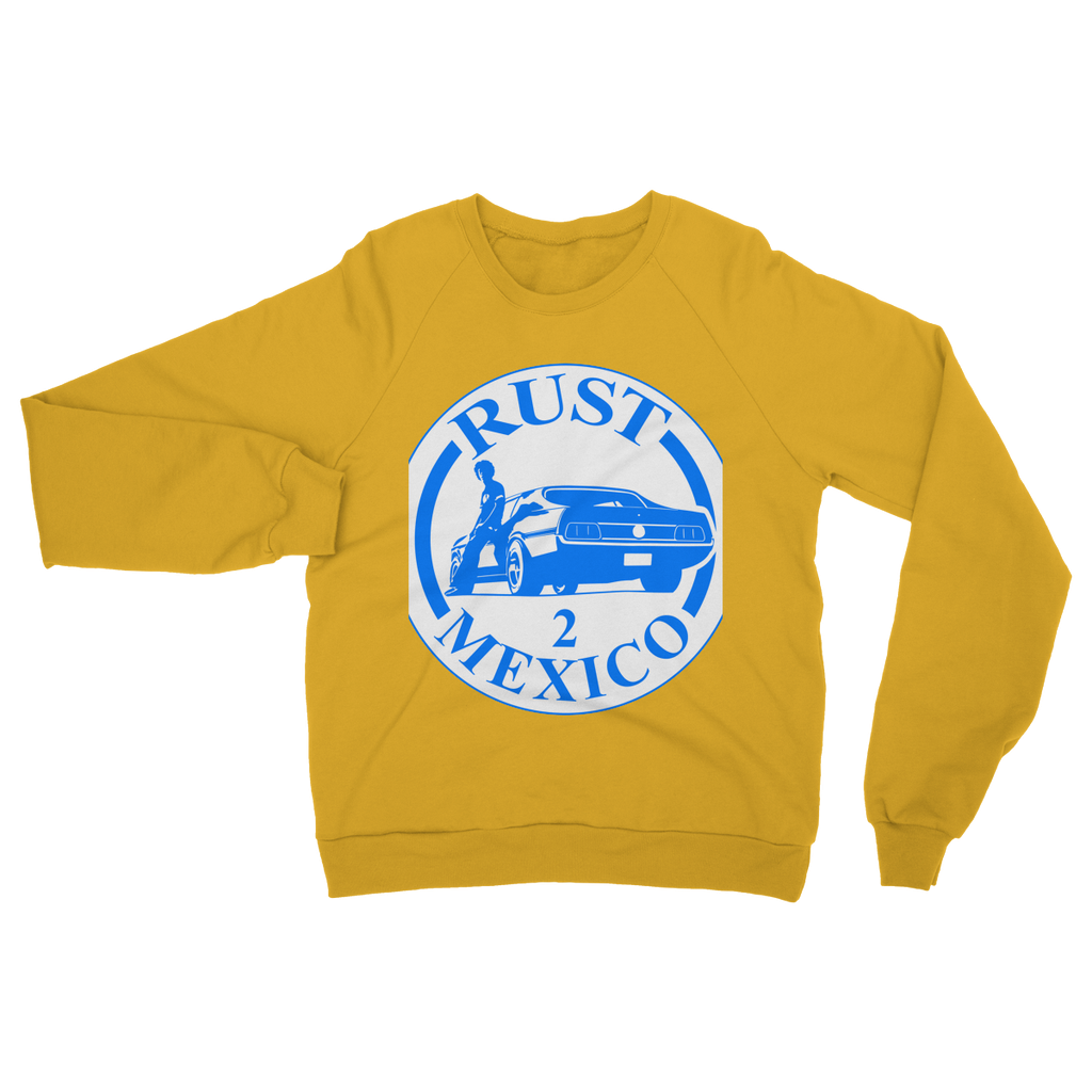 Rust 2 Mexico - Logo Heavy Blend Crew Neck Sweatshirt