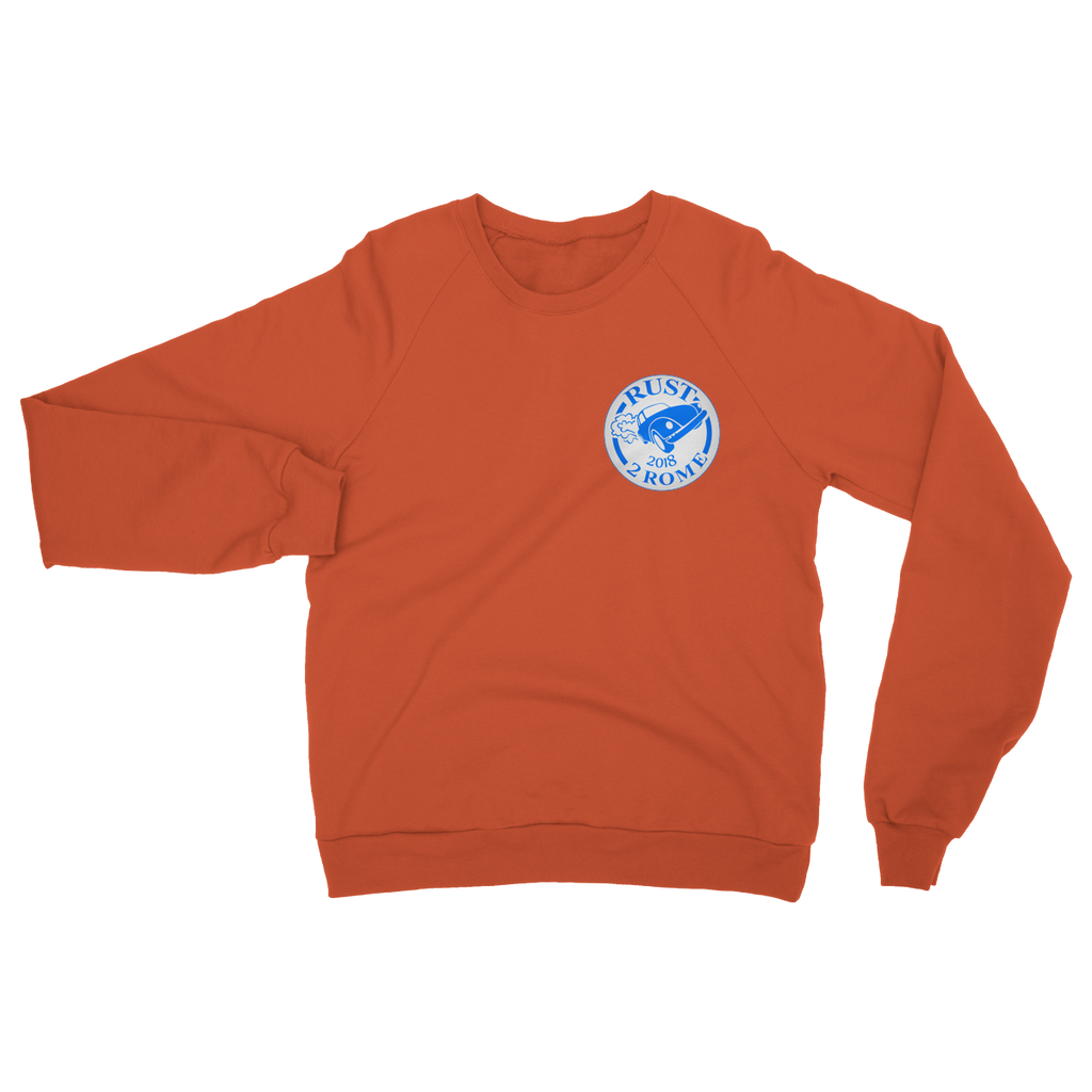 Rust 2 Rome Logo 2018 Heavy Blend Crew Neck Sweatshirt