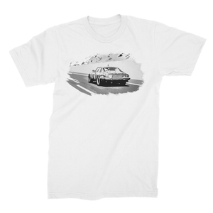 The Black Pearl - Mono Unisex Fine Jersey T-Shirt