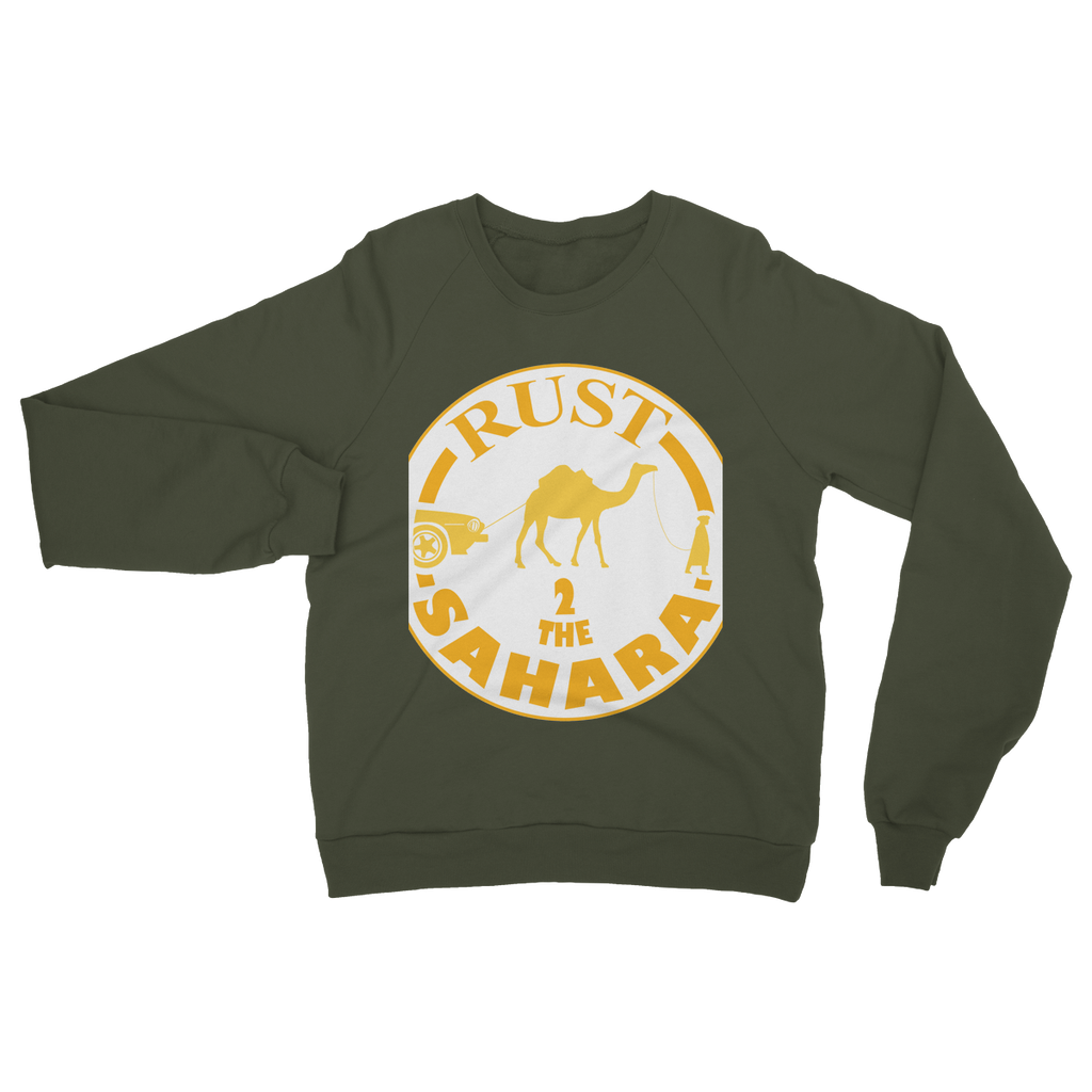Rust 2 Sahara - Logo Heavy Blend Crew Neck Sweatshirt