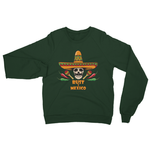 Rust 2 Mexico Sombrero Heavy Blend Crew Neck Sweatshirt
