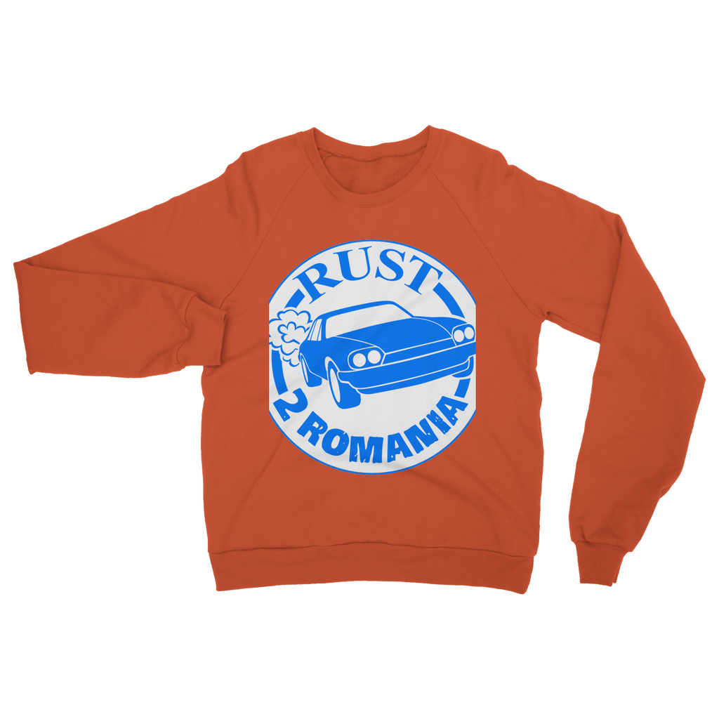 Rust 2 Romania - Logo Heavy Blend Crew Neck Sweatshirt