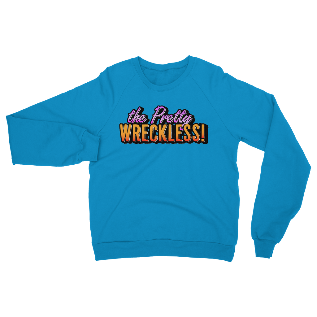 Team Logo - The Pretty Wreckless Heavy Blend Crew Neck Sweatshirt