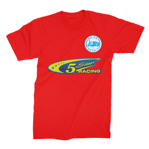 Team Name 5 Star Racing Unisex Fine Jersey T-Shirt