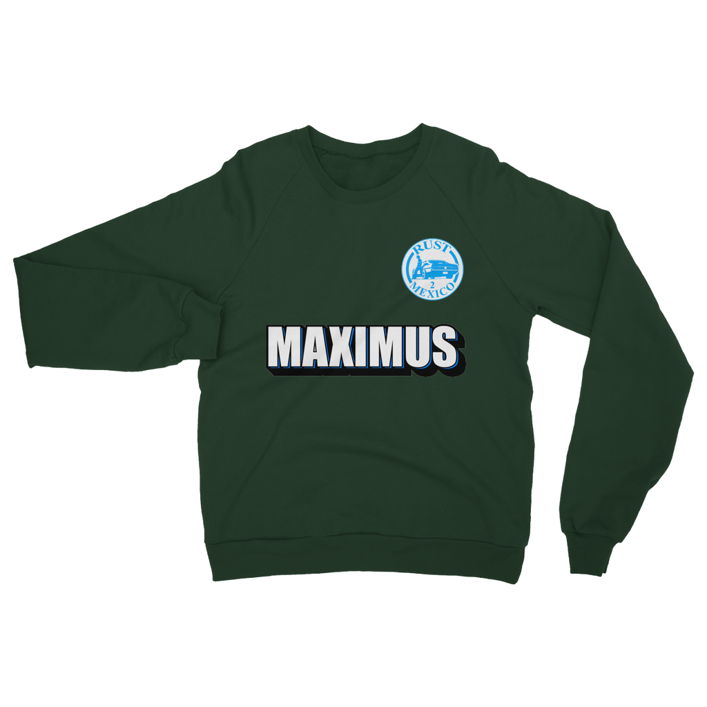 Team Name Maximus Heavy Blend Crew Neck Sweatshirt