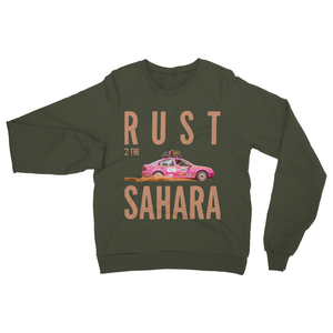 Rust 2 Sahara - Bora Heavy Blend Crew Neck Sweatshirt