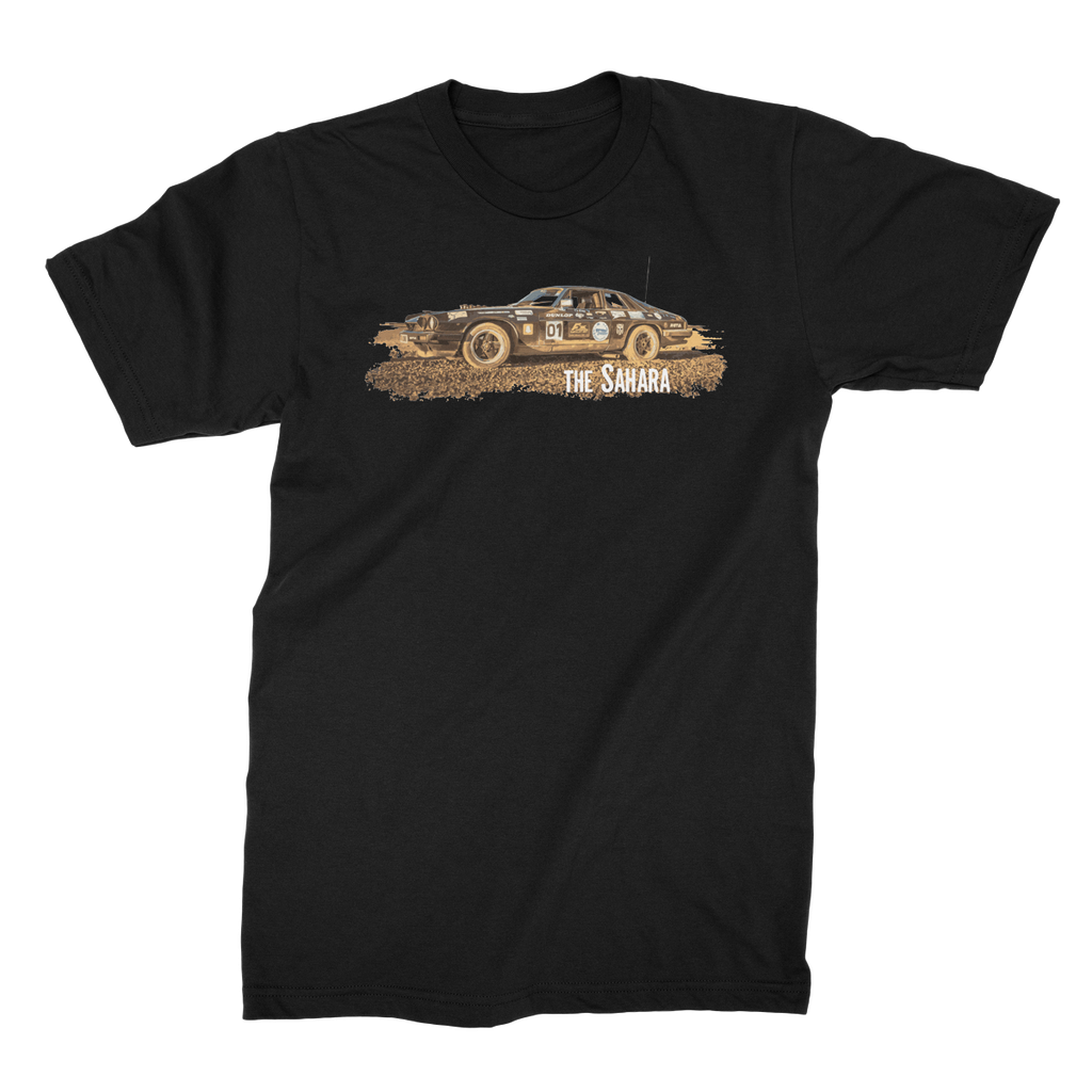 Rust 2 Sahara - The Black Pearl Unisex Fine Jersey T-Shirt