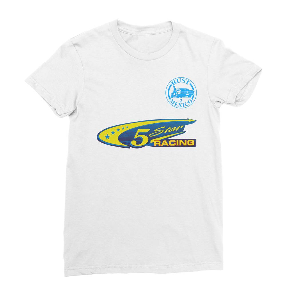 Team Name 5 Star Racing Women's Fine Jersey T-Shirt