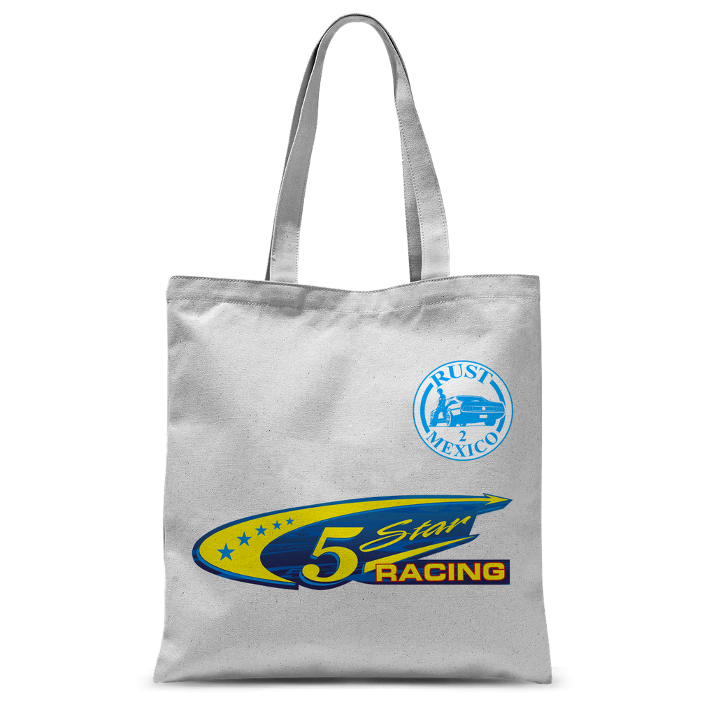 Team Name 5 Star Racing Tote Bag