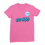 Team Name CS 660 Women's Fine Jersey T-Shirt