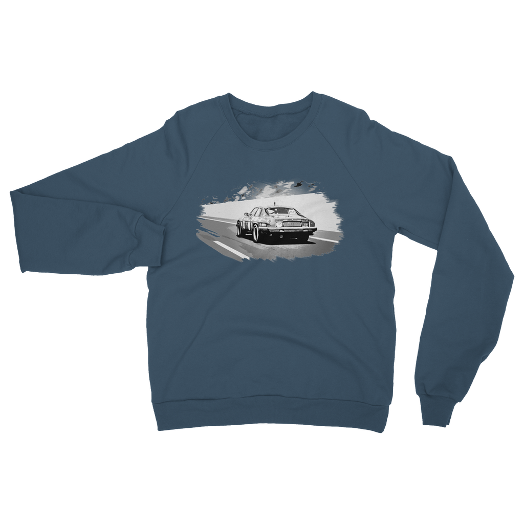 The Black Pearl - Mono Heavy Blend Crew Neck Sweatshirt