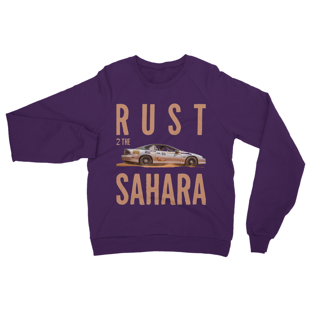 Rust 2 Sahara - Camaro Heavy Blend Crew Neck Sweatshirt