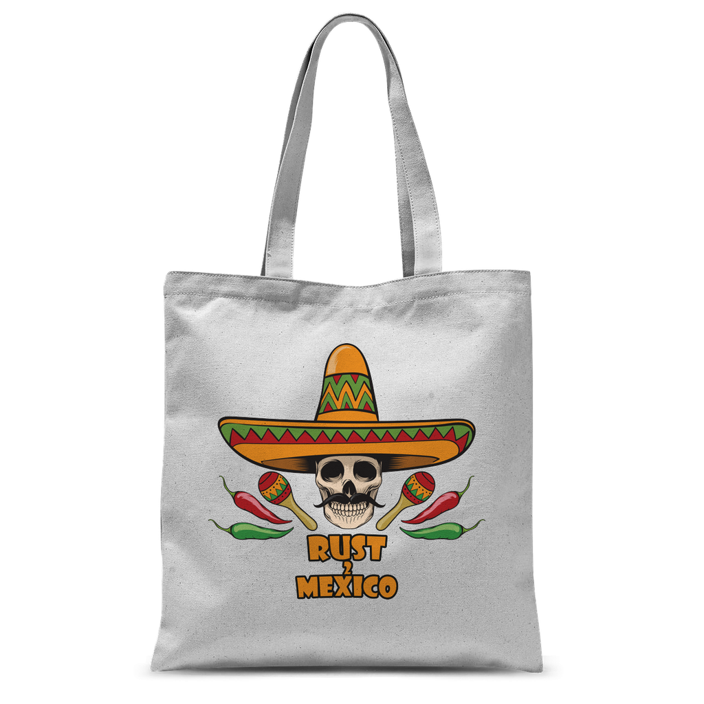 Rust 2 Mexico Sombrero Tote Bag