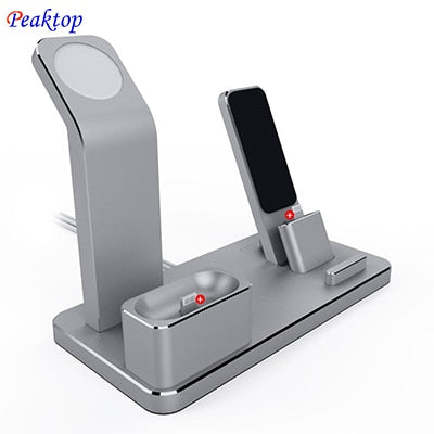 Iphone 3 In 1 Charging Dock Station Bracket (1 Set)