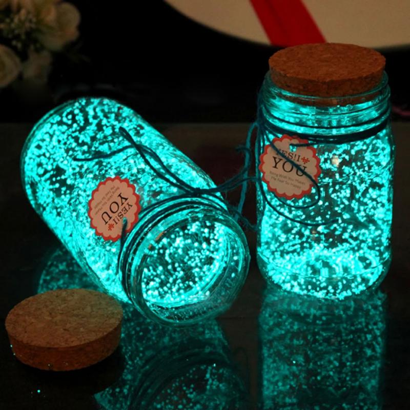 GLOW IN THE DARK DIY - BRIGHT PAINT WISHING BOTTLE