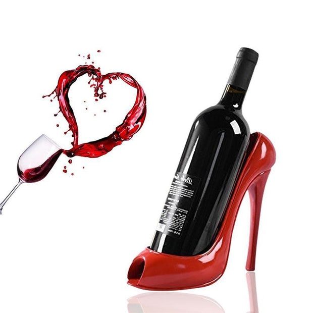 High Heel Shoe Wine Bottle Holder