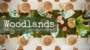 Into the Woods! | Woodland Themed Party