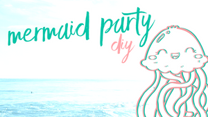 Mermaid Party | DIY Jellyfish 🧜‍♀️🐚