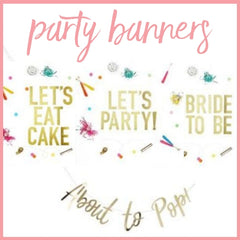 perfect party banner