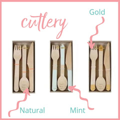 perfect party birch cutlery