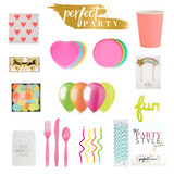 Neon Heart Perfect Party box vision board