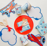 VINTAGE AIRPLANE PARTY IN A BOX