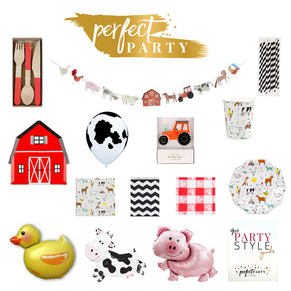 **NEW** BARNYARD FUN PARTY IN A BOX