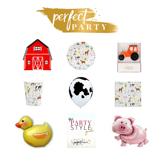 **NEW** BARNYARD FUN PETITE PARTY