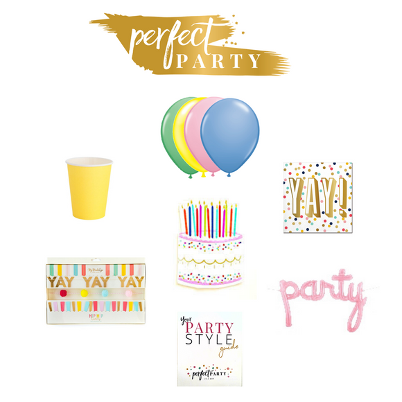 HAPPY BIRTHDAY PETITE PARTY