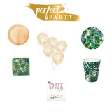 ECO-FRIENDLY TROPICAL PETITE PARTY