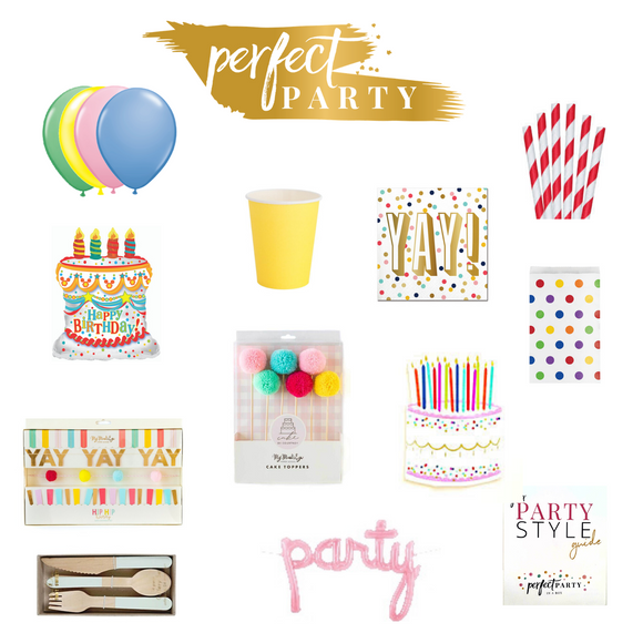 ** NEW ** HAPPY BIRTHDAY PARTY IN A BOX