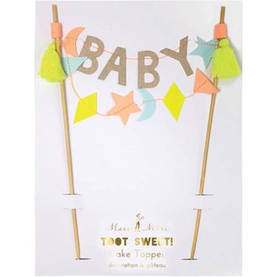 Perfect Party in a Box Baby Cake Topper Party Supplies