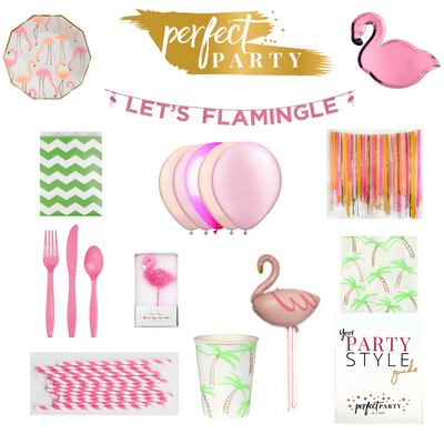 Let's Flamingle Party in a Box Vision Board