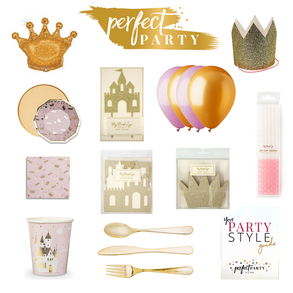Princess Party In a Box Vision Board