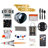 Space Robot Party in a box Vision Board