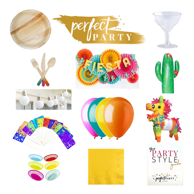 Fiesta Fun Party Box Vision Board