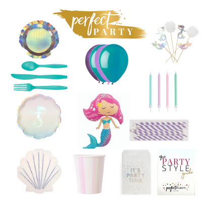 Magical Mermaid Party In A Box Vision Board