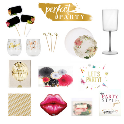 Ladies Night In party in a box vision board