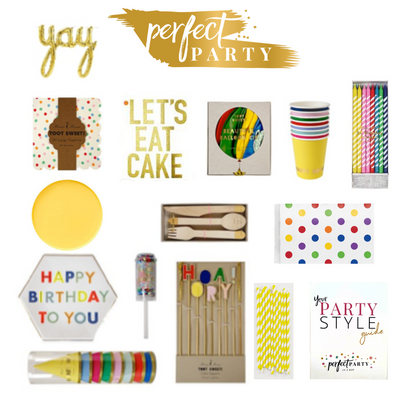 Let's Eat Cake Party In a Box Vision Board