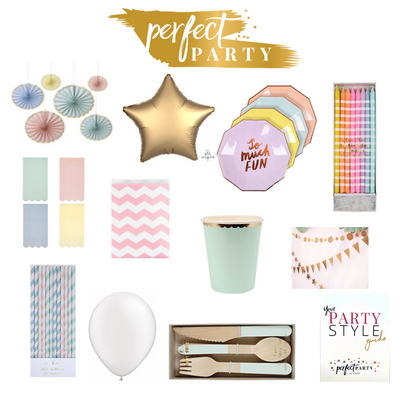 Pretty In Pastels Party In a Box Vision Board